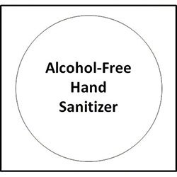 Sanitizer Dispenser Sticker