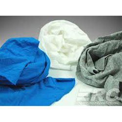 Cleaning Rags, Cotton Shirts, Assorted Colors - 25 lb.