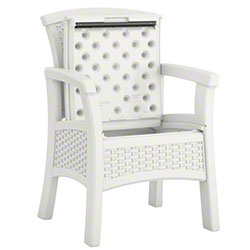 Suncast® Resin Dining Chair w/Integrated Storage