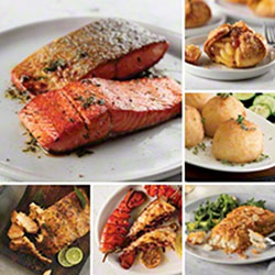 Free Yum! Omaha Steaks Seafood Premium Dinner Kit