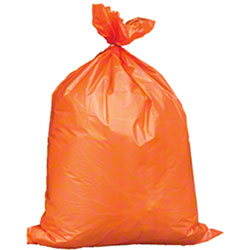 Orange Trash Bags - 44 Gallon