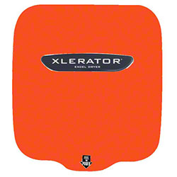 Xlerator Safety Orange Hand Dryer