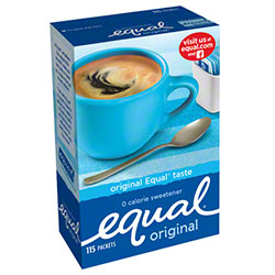 Equal® 1 gr Packets - 115 ct.