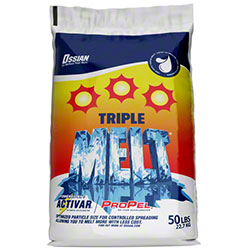 Ossian Triple Melt® Ice Melter - 50# Bag