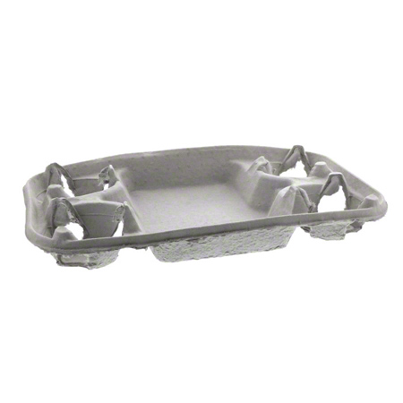 Pactiv Carry Safe® 4 Cup Carry-Out Tray