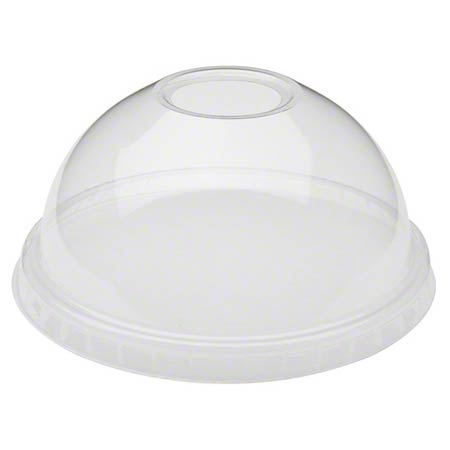 Pactiv EarthChoice® B Series Clear Dome Lid w/Hole