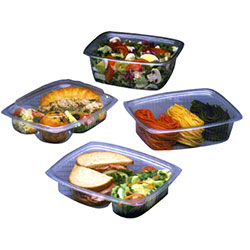 Pactiv Showcase® Combo Pack Deli Packaging
