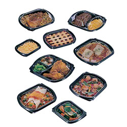 Pactiv ClearView® MealMaster™ Roaster Containers