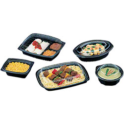 Pactiv ClearView® Micromax® Oval Containers