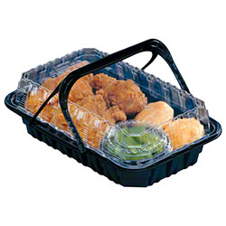 Pactiv ClearView® MealMaster™ Chicken Barn™ Cont - Medium