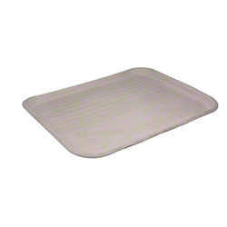 """Pactiv EarthChoice® Fiber Blend Cafeteria Tray - 14"""" x 18"""" x 1"""", Natural"""