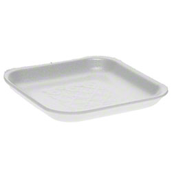 Pactiv S-Series Foam Tray - 1S, White