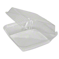 Pactiv Sell Out® Large Deep Clear Hingeware
