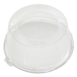 "Pactiv Clear Dome Lid For 6"" Bread & Butter Plates"