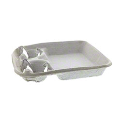 Pactiv Carry Safe® 2-Cup Carry-Out Tray