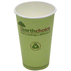 Pactiv EarthChoice® PLA Lined Hot Cup - 16 oz.