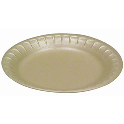 Pactiv Placesetter® Deluxe No.9 Dinner Plate-8 7/8,Vanilla