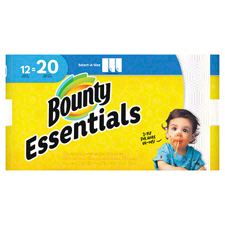 Bounty® Essential Mega Select-a-Size Paper Towel