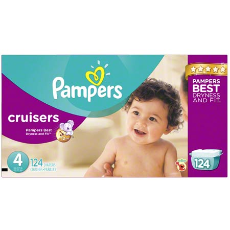 P&G Pampers Cruisers Size 4 Diapers