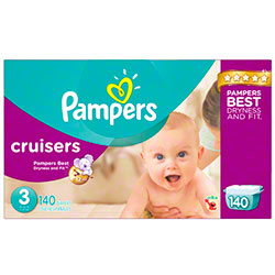 P&G Pampers Cruisers Size 3 Diapers