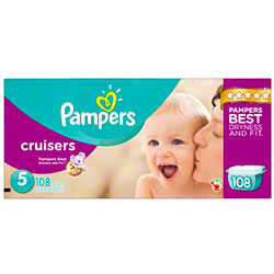 P&G Pampers Cruisers Size 5 Diapers