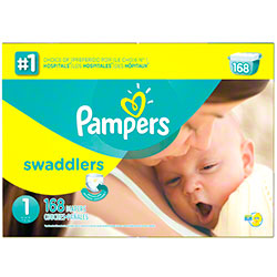 P&G Pampers Swaddlers Size 1 Diapers