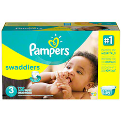 P&G Pampers Swaddlers Size 3 Diapers