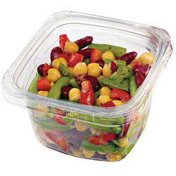 """PWP 4"""" Square Containers & Lids"""