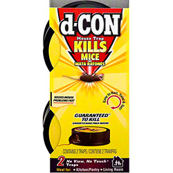 d-Con® No View, No touch™ Slim Pack Mouse Trap