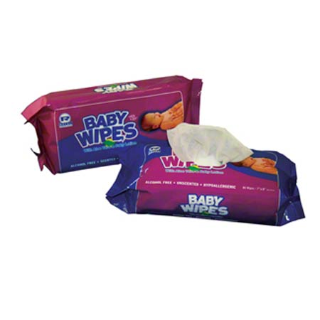 Royal Unscented Baby Wipe Refill - 80 ct.