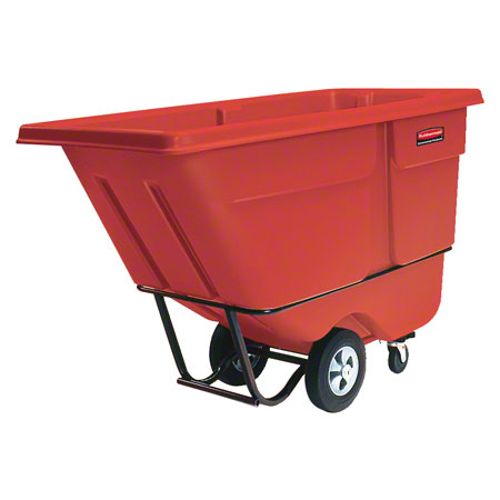 Rubbermaid® 1 cu yd. Tilt Truck - Standard, Red