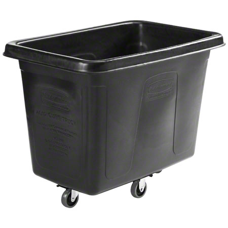 Rubbermaid® Executive Cube Truck w/Quiet Casters -12 cu ft