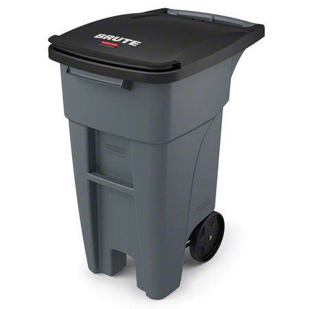 Rubbermaid® BRUTE® Standard Rollout - 32 Gal., Gray