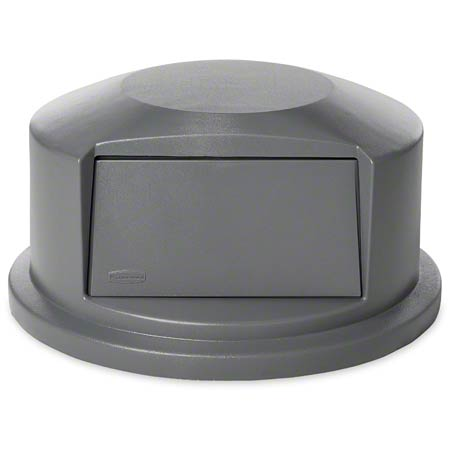 Rubbermaid® Commercial Vented Brute® Dome Top Lid - 44 Gal., Gray