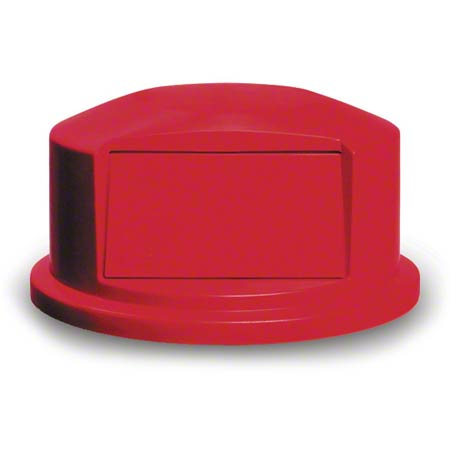 Rubbermaid® Commercial Vented Brute® Dome Top Lid - 44 Gal., Red