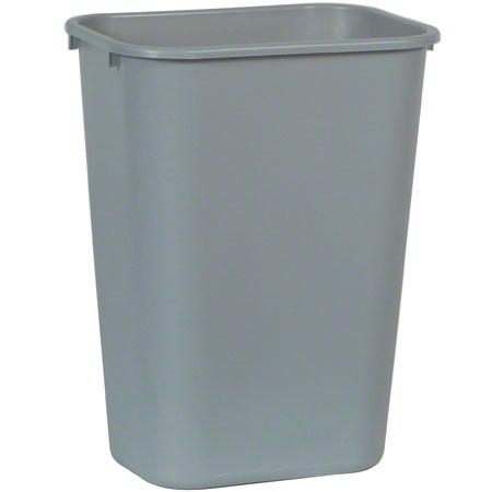 Rubbermaid® Deskside Wastebasket - 41 1/4 Qt., Gray