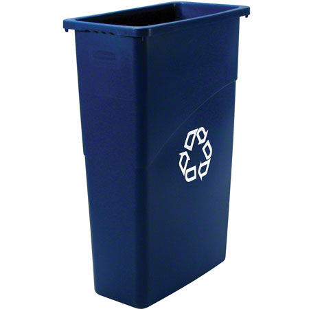 Rubbermaid® Indoor Station Container - 21 Gal., Half Round