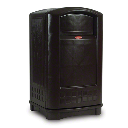 Rubbermaid® Plaza™ Container - 50 Gal., Black