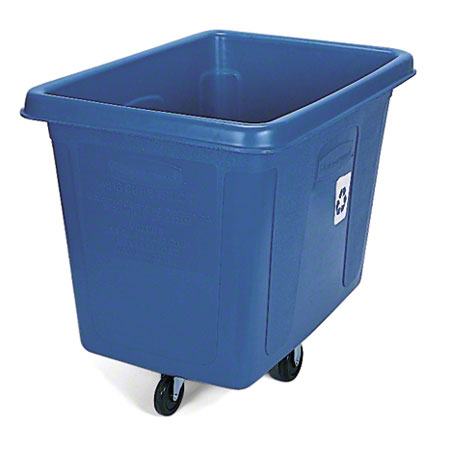 Rubbermaid® Recycling Cube Truck - 500 lb., Blue