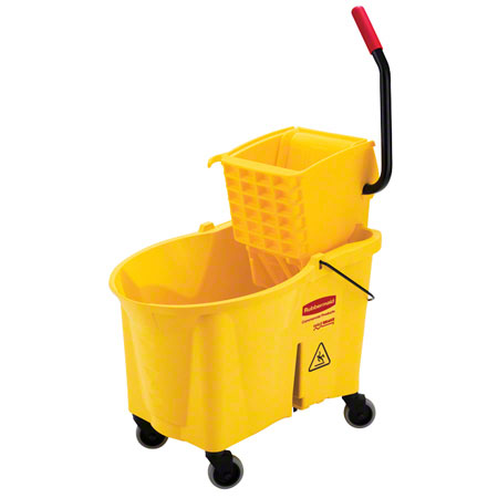 Rubbermaid® Foot Activated Mopping Combo-6185/6127-01, Yel