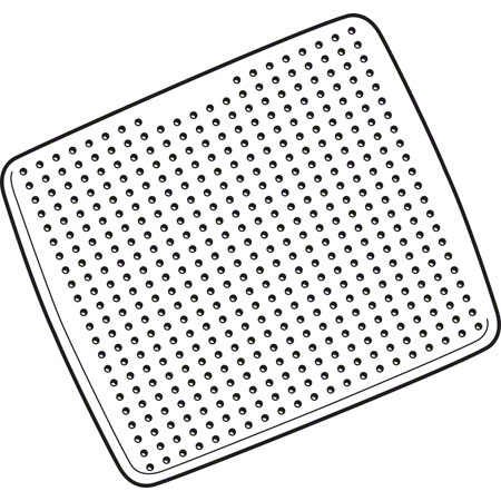 Rubbermaid® Safti-Grip® Shower Mat - White