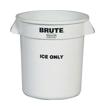 """Rubbermaid® BRUTE® """"Ice Only"""" Container - 10 Gal."""