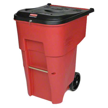 Rubbermaid® BRUTE® Medical Waste Rollout Cart - 65 Gal.