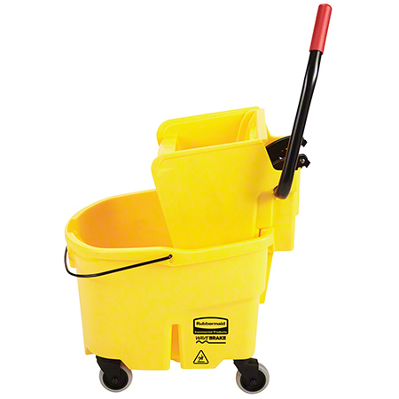 Rubbermaid® WaveBrake® Side Press Combo - 26 Qt., Yellow