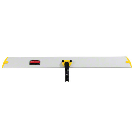 "Rubbermaid® HYGEN™ Quick Connect Hall Dusting Frame - 35"", Yellow"