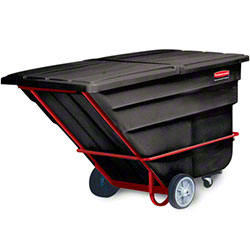 Rubbermaid® 2 cu yd. Tilt Truck - Heavy Duty, Black