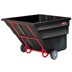 Rubbermaid® 2 1/2 cu yd. Tilt Truck - Standard, Black