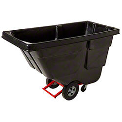 Rubbermaid® 1/2 cu yd. Tilt Truck - Utility, Black