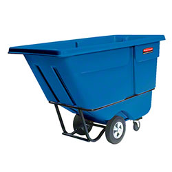 Rubbermaid® 1/2 cu yd. Tilt Truck - Standard, Dark Blue