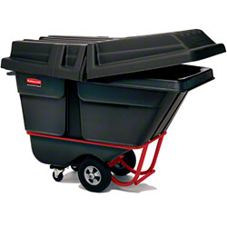 Rubbermaid® 1/2 cu yd. Tilt Truck - Standard, Black